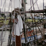 Mast en tuigage aan boord van zeilschepen